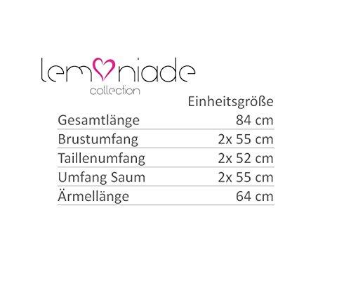 Lemoniade -  Cardigan  - Donna Hellblau-Ecru