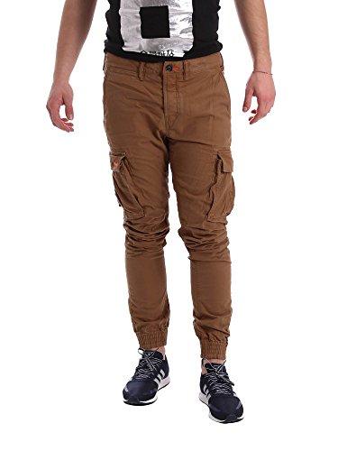 Superdry M70000BNF1 Pantalone Uomo Marrone Xl