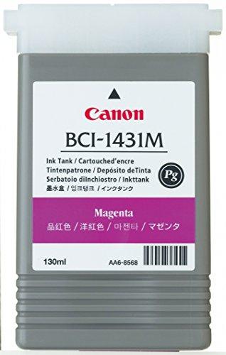 Canon BCI 1431M Cartouche d'encre d'origine 1 x magenta pigmenté