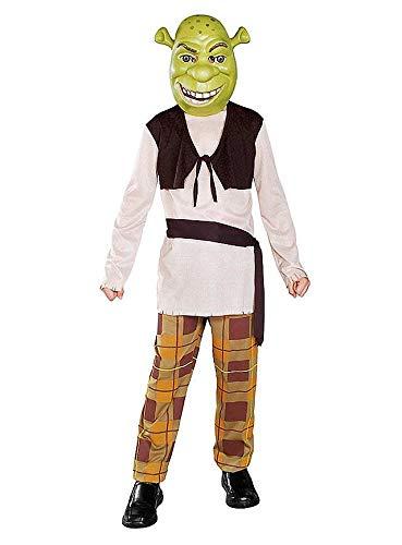 HRC - Für Immer Shrek Kinder Kostüm - Größe 140 (Shrek Kostüm Kinder)