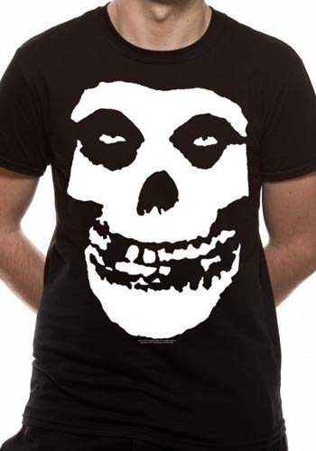 Mercanzie Licenza Ufficiale MISFITS - SKULL T-Shirt (Nero), XX-Large