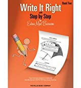 [(Edna Mae Burnam: Write it Right - Book 5 )] [Author: Edna Mae Burnam] [Jan-2013]