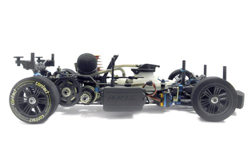 RC Auto kaufen Rennwagen Bild 6: KM-Racing 31301000 Ferngesteuertes RC Auto KM K1 Meen Version GP Scale On-Road Wettbewerbsfahrzeug M1:10*