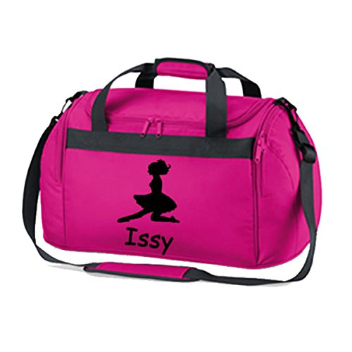 cb6571cc1e PERSONALISED PRINTED IRISH DANCING FEIS BAG GYM FESH HOLDALL GIRLS DANCE BAG  (One size,