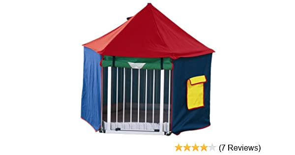 sc 1 st  Amazon UK & BabyDan BabyDen Playpen Playtent (Multicoloured): Amazon.co.uk: Baby