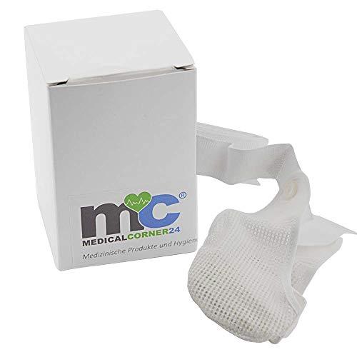 Medicalcorner24® Suspensorium Hodenschutz Bandage Tiefschutz Suspensor, abnehmbarer Beutel, Gr. 3 -