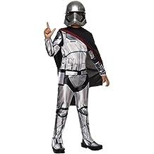 Rubie's Official Disney Star Wars Captain Plasma - Disfraz Capitan Phasma Deluxe, talla  M