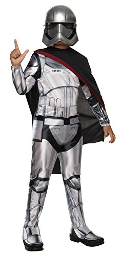 Star Wars Phasma Kostüm - Rubie 's Offizielles Disney Star Wars Captain Phasma, Kind Kostüm - Kleine