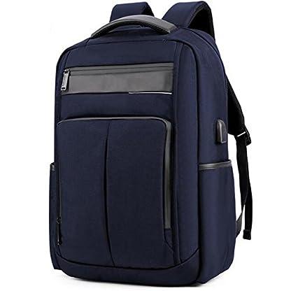 41r1Bu6 ilL. SS416  - beibao shop Backpack - USB Moda Computadora Mochila 18 Pulgadas Computadora Compartimiento liviano Impermeable Antirrobo Hombre Mujer Ocio Negocios Computadora Mochila