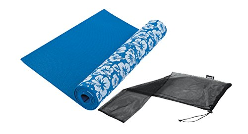 Tunturi Yoga Matte Bedruckt Blau, 14TUSYO001