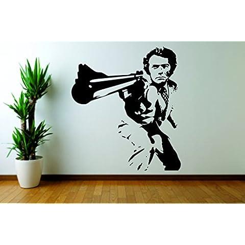 Arte de la pared adhesivo Cita de película de Harry el sucio