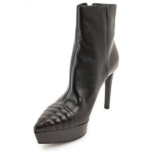 Prada Stiefeletten-Plattform hohe schwarz Leder - Modellnummer: 1TP168 X0L F0002 Schwarz