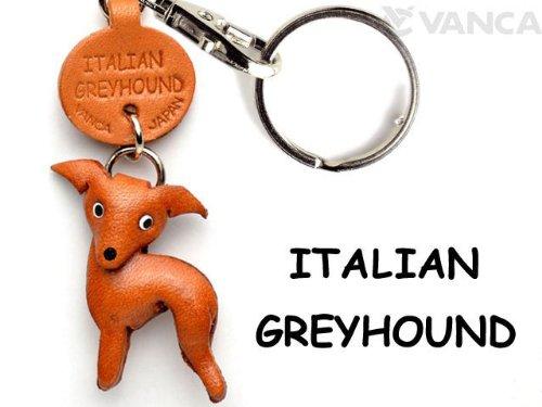italian-greyhound-dog-portachiavi-in-pelle-craft-vanca-portachiavi-da-collezione-made-in-giappone