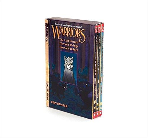 Warriors Manga Box Set: Graystripe's Adventure: The Lost Warrior / Warrior's Refuge / Warrior's Return por Erin Hunter