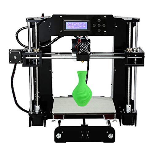 Anet - kit per stampante 3d, formato a6, 220 x 220 x 250 mm, con schermo lcd