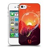 Head Case Designs Bergen Sonnenuntergang Sammlung Soft Gel Hülle für iPhone 4 / iPhone 4S