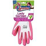 Spontex 12130146 Lady Garden - Guantes de jardinería, talla 6