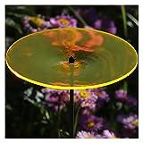 Bütic GmbH Acrylglas Sonnenfänger Scheibe 14cm Neon Transparent Fluoreszierend, Farbe:Neonorange