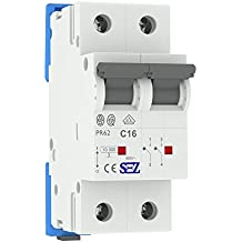 SEZ Interruptor diferencial (C 16A 2P 10kA VDE c16a Fusible automático (Seguridad pr620099229SEZ 1415