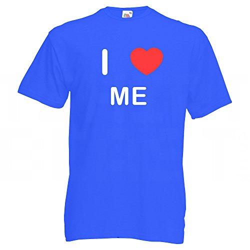I Love Me - T-Shirt Blau