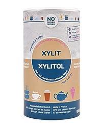 No Sugar Sugar Premium Xylit mit 1:1 Süßkraft gegenüber Zucker 0,4 kg, 1kg, 4,5kg, 25kg, verwendbar als kalorienarmer Zuckerersatz, bekannt aus Supermarkt und Drogerie in Deutschland, feinkörnig (1 kg)