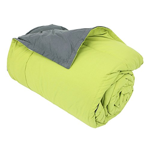 60cm, Mikrofaser 100% Polyester 330g/m2Frisbee zweifarbig grün pistazie und grau Stahl (Frisbees In Der Masse)