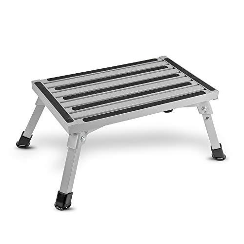 Preisvergleich Produktbild ha ba Faltbare Aluminium Trittstufe / geprüft bis 150 kg / kleines Packmaß / 2, 9Kg