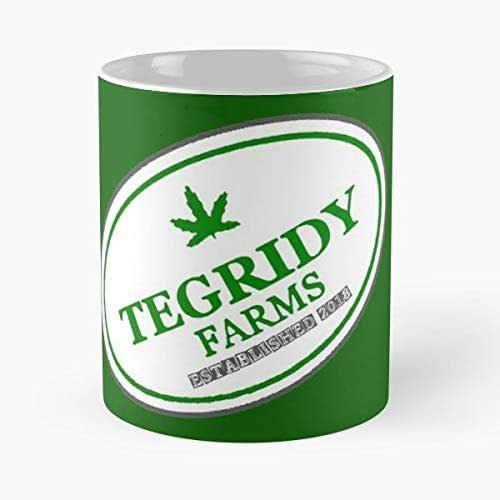 Hemp Colorado Tegridy Farms Parody Randy Marsh South Park Brown Iskybibblle Il migliore regalo per tazza da caff/è in ceramica da 11 once