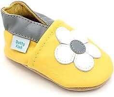 1f86f0cb0 Dotty Fish - Zapatos de Cuero Suave para bebés - Niñas - Animales
