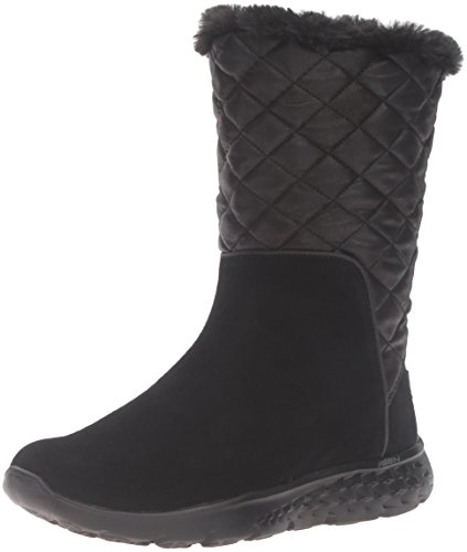 Skechers - On The Go 400 Gleam, Stivali Donna Nero (Nero (Bbk))