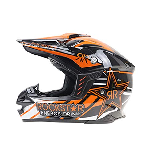 Adolescenti Sky Blue Off-Road Full Face Casco da moto Adulto Anti-Crash Downhill Caschi da moto Motocross Racing Caschi Safety Moto Cap