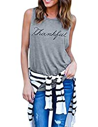 TUDUZ Newest Creative Design Women Simple Casual Crop Tops Vest Summer Sexy Sleeveless Letter Print Tank Tops Blouse T-Shirt