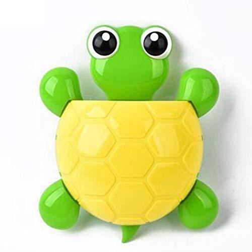 airfere Kreative süße Schildkröte-Form Zahnbürstenhalter Starke Saugnapf Lagerregal Zahnbürsten & Ersatzzahnbürsten