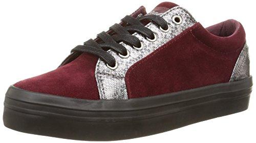 Kaporal - Flex, Sneakers da donna, rosso (bordeaux), 40