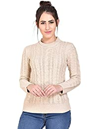 5fc25189758 Beige Women s Sweaters  Buy Beige Women s Sweaters online at best ...