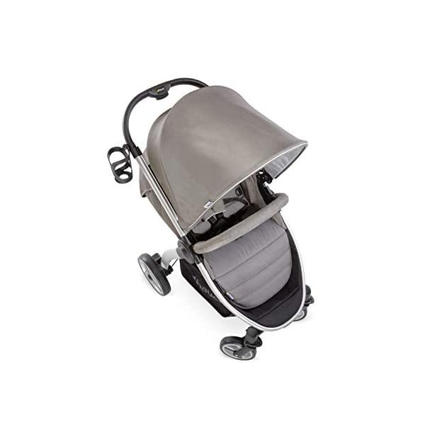 Hauck Lift Up 4, Lightweight Pushchair from Birth to 25 kg, Quick Fold with One Hand with Lying Position, Telescopic, Height-Adjustable Push Handle, Cup Holder, Charcoal Hauck EASY FOLDING - Thanks to its One-Hand-Fold mechanism, this pushchair is folded away within seconds up to a small size. This can be easily transported by the carry strap, leaving one hand free for your little one LONG USE - This buggy can be used over a long period of time as it is suitable from birth thanks to lying position and up to 25 kg. It can also be combined with the hauck Comfort Fix infant car seat + adaptors or hauck 2in1 Carrycot COMFORTABLE - Thanks to backrest and footrest beign adjustable into lying position which is suitable for bigger children, too, as well as large sun hood with UV protection and height-adjustable, telescopic push handle 5