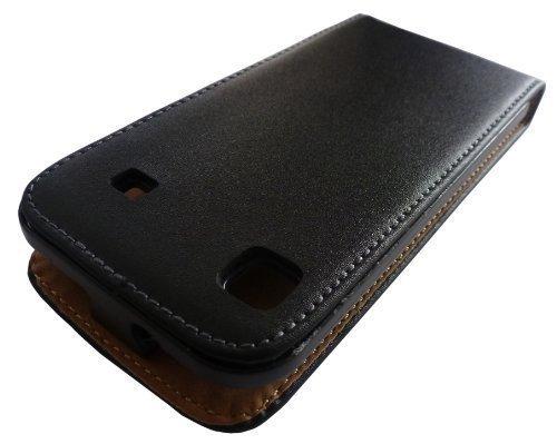 Avcibase 4260310640945 A05-01-08 KunstlederSchutzhülle für Samsung Galaxy GT-i9000 S Plus/i9001 schwarz