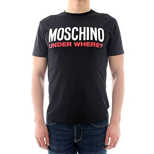 Moschino uomo t shirt a1917 8133 555, 555, s