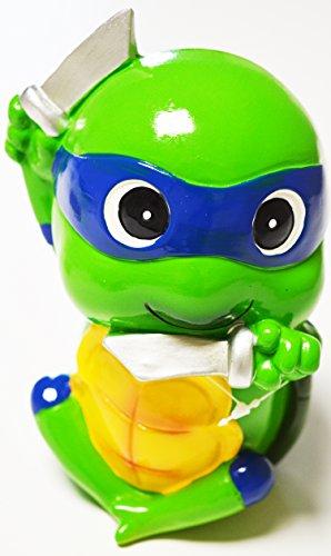 Teenage Mutant Ninja Turtles Spardose Leonardo blau Maske Kinder Geschenk Ideen