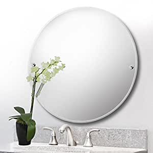 Round Wall Mounted Bathroom Mirror Bedroom Mirror 40cm Kitchen Home