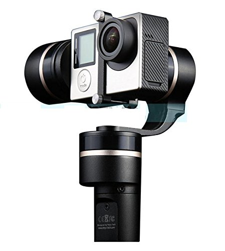 Preisvergleich Produktbild Gowe 3-Achsen-Brushless Handheld Gimbal für Hero 43+ Action Sports Kameras