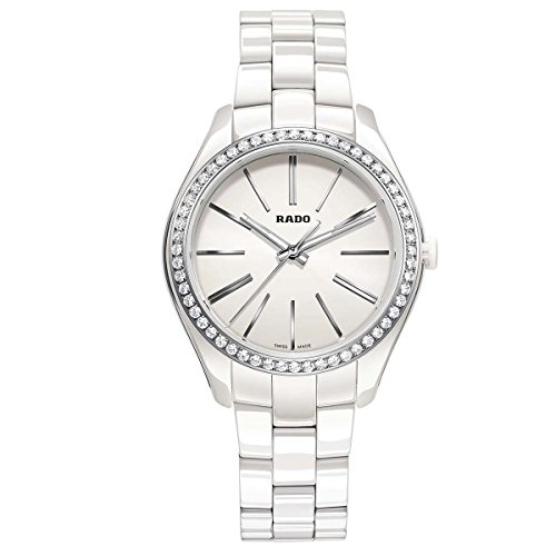 RADO HYPERCHROME FEMME DIAMANTS 36MM BLANC CÉRAMIQUE BRACELET MONTRE R32311012