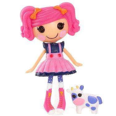 Mini Lalaloopsy Doll - Berry's Blueberry Party - Mini Puppe mit Haustier & Häuschen, aus USA