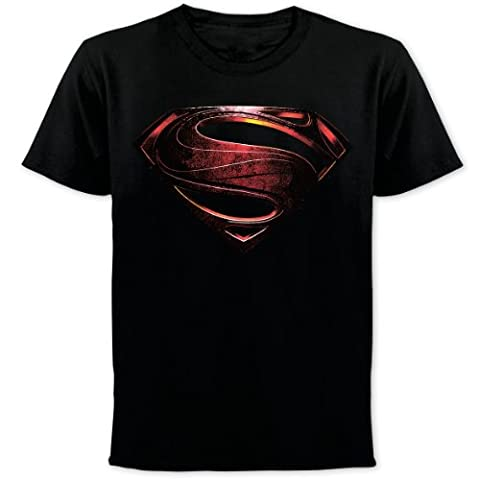 Superman Man of Steel T-Shirt Logo Superman - T-Shirt