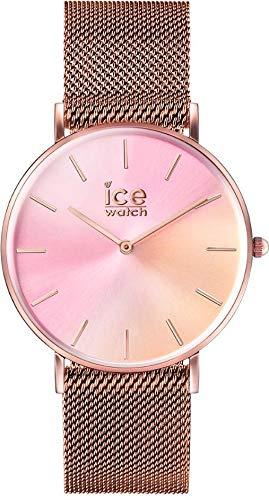Ice-Watch Reloj Analógico para Mujer de Cuarzo con Correa en Acero Inoxidable 016023