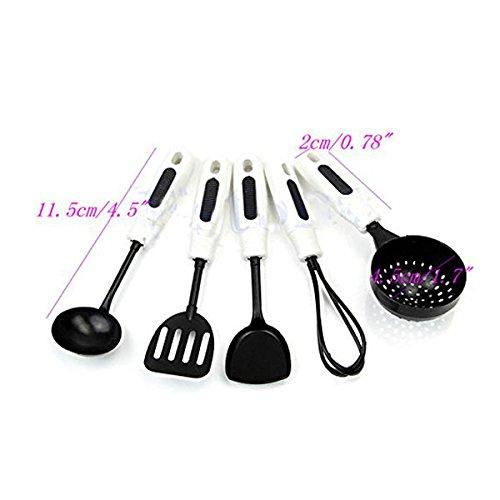 leorx juego juguete ollas alimentos utensilios de cocina