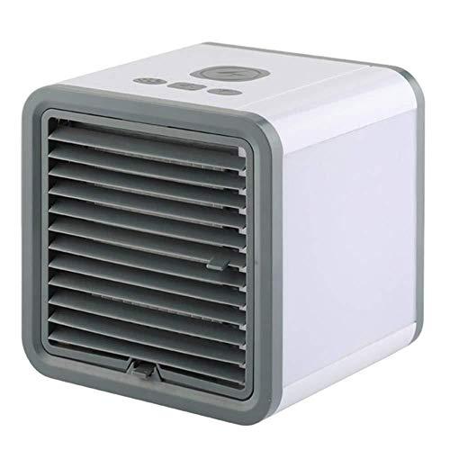 KFRSQ Enfriador Portátil Aire Acondicionado Ventilador Purificador Humidificador Mini de Pequeño Acondicionador Frío Aerosol HumidificacióN Refrigeración En Casa