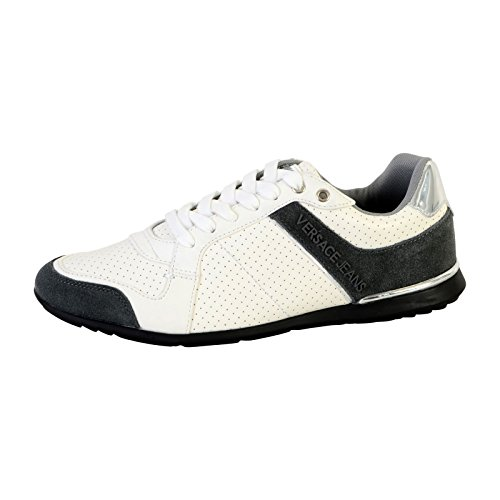 Versace Jeans Linea Fondo Tommy Dis1 Coated Holed Suede E0YRBSB170011003, Basket