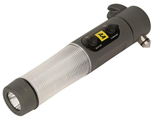 AA Car Essentials AA Notfallhammer mit Gurtschneider zum Einschlagen der Windschutzscheiben des Autos