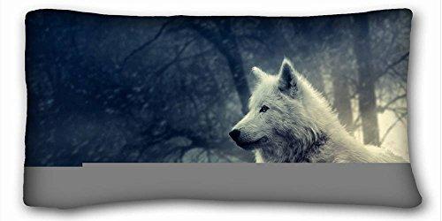 Carcasa algodón y poliéster suave animales cocodrilo Eyess puntos tamaño de la funda de almohada...